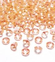 "Streudeko ""Diamant"" - gold - 100 Stück"