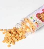FunCakes Zuckerkonfetti - gold -  60 g