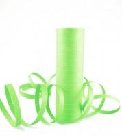 Papierluftschlange - hellgrün