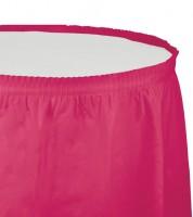 Tischverkleidung - hot magenta - 4,26 m