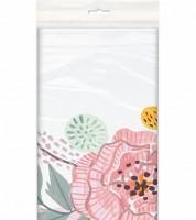 """Kunststoff-Tischdecke """"Rosen"""" - 137 x 213 cm"""