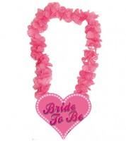 """Hawaii-Kette mit Herz """"Bride to Be"""""""