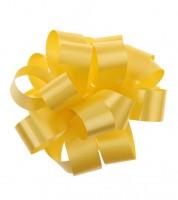 Gelbes Ziehschleifenband auf Rolle - 40 m