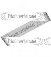 """Absperrband """"Frisch verheiratet - Tauben"""" - 15 m"""