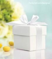 Gastgeschenkboxen - weiß - 10 Stück