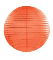 Papierlampion - orange - 35 cm
