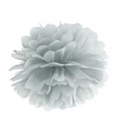 Pom Pom - 25 cm - silber