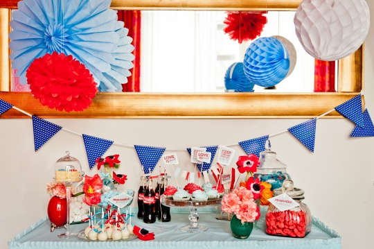 Zuruck In Die 50er Bridal Shower Mit Cola Und Rock N Roll Teil