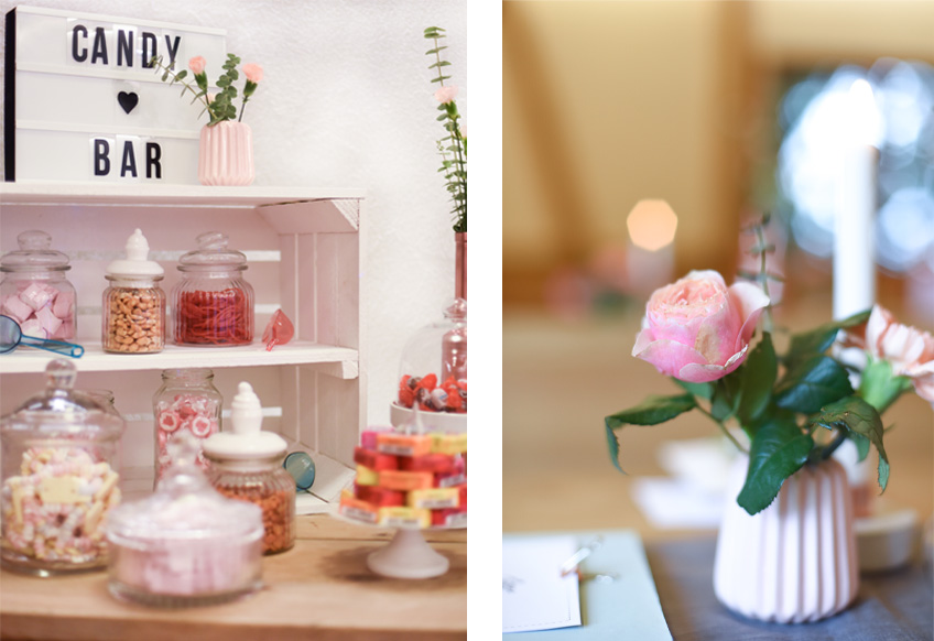 Stylische Light Box Als Hinweisschild Fur Die Candy Bar My Bridal