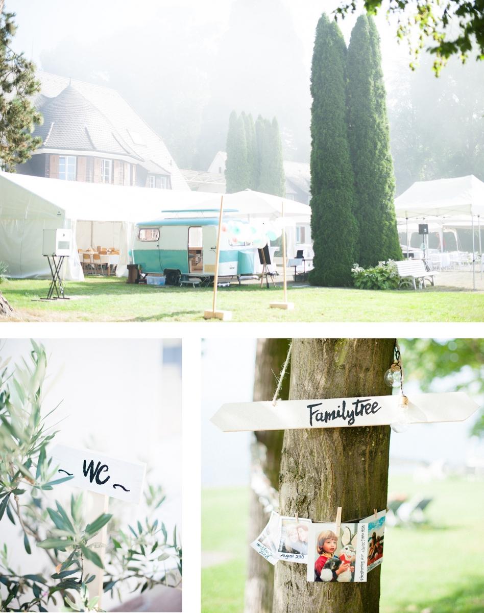 Natürliche Sommerhochzeit im zarten Vintage-Flair   My Bridal Shower ...