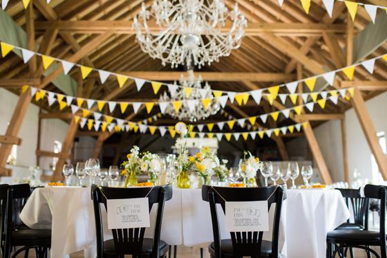 Vintage Hochzeit Ein Traum In Gelb Weiß Und Schwarz My