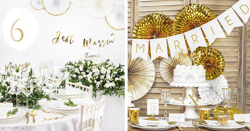 Hochzeitsdeko In Gold Weiß So Gestaltest Du Das Edle