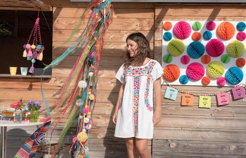 Bunt, fröhlich, freiheitsliebend - Hochzeitsdeko im Hippie Boho Look