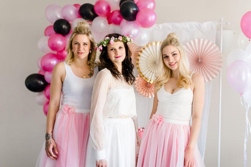 Dein Brautparty-Look kann elegant und flippig sein (c) Jana Köhler