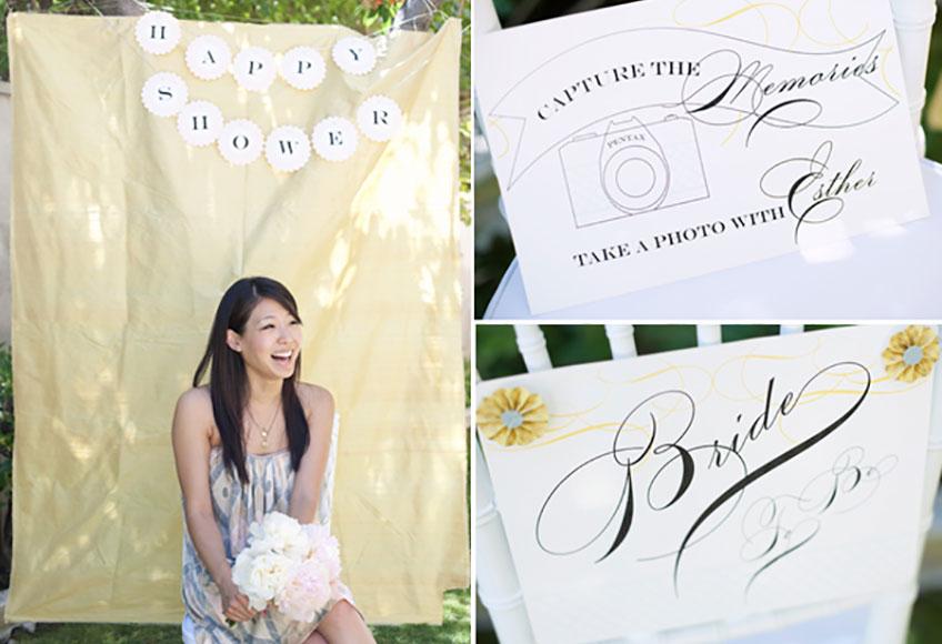 Die Bridal Shower ist wie eine besondere Teeparty in schönem Ambiente (c) Connie M. Chung