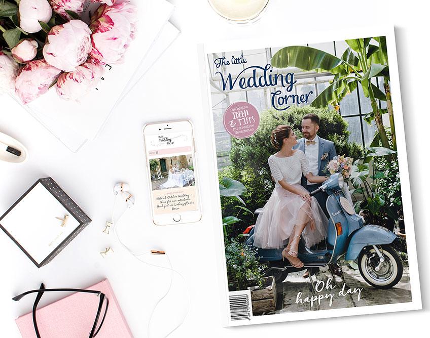 Mach deiner Trauzeugin einen symbolischen Antrag mit Hochzeitsmagazin (c) The Little Wedding Corner Magazin 2019