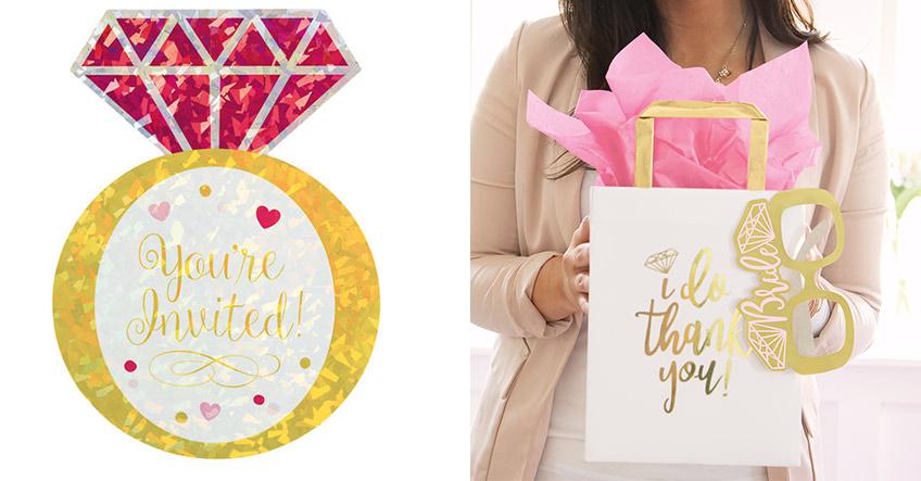 Schöne Einladungen und kleine Gastgeschenke machen den guten Bridal-Brunch-Gastgeber aus :)