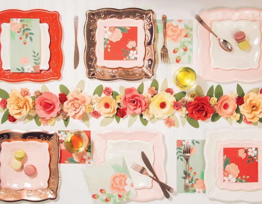 Such dir für die Brautparty deinen floralen Lieblingsstil aus