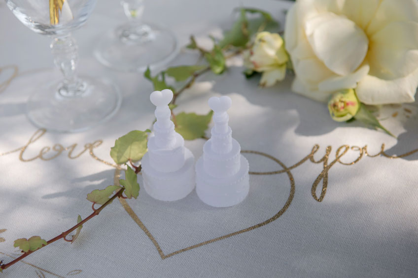 Für Verspielte sind Seifenblasen ein schönes Gastgeschenk zur Hochzeit