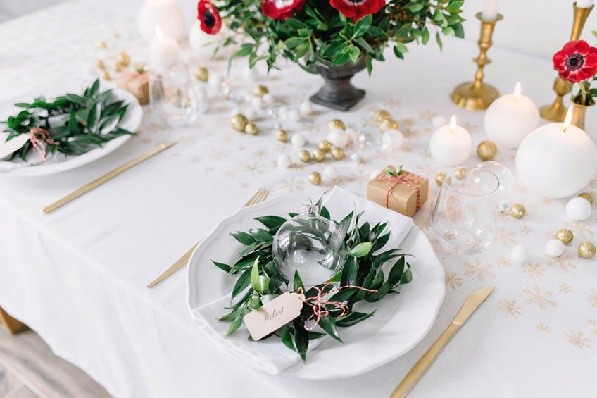 Schönes Weihnachtsgeschenk - ein Antrag im Winter