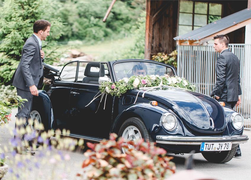 Kafer Cabrio Als Hochzeitsauto My Bridal Shower Blog