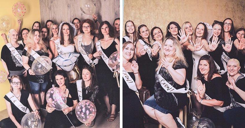 Für dein JGA-Shppting brauchst du Ballons, Braut-Tattoos und Schärpen (c) Picture People