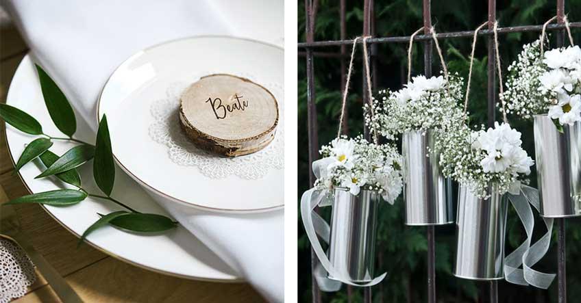 Tischdeko Zum 25 Hochzeitstag Mit Naturlichen Elementen My Bridal