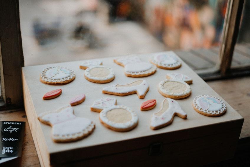 Brautparty-Motivplätzchen von Das kleine Backglück - wunder, wunderschön (c) Christine Ladehoff Fotografie