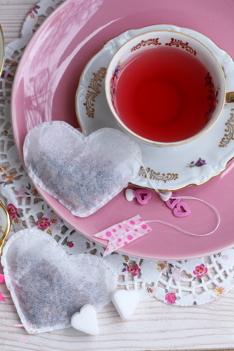 So in love with my Valentine - bei der Tea Time in romantischer Zweisamkeit