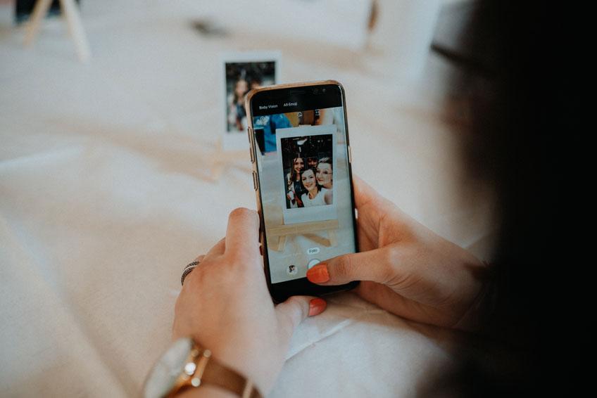 Etwas ganz besonderes ist der virtuelle JGA via Skype (c) Christine Ladehoff Fotografie
