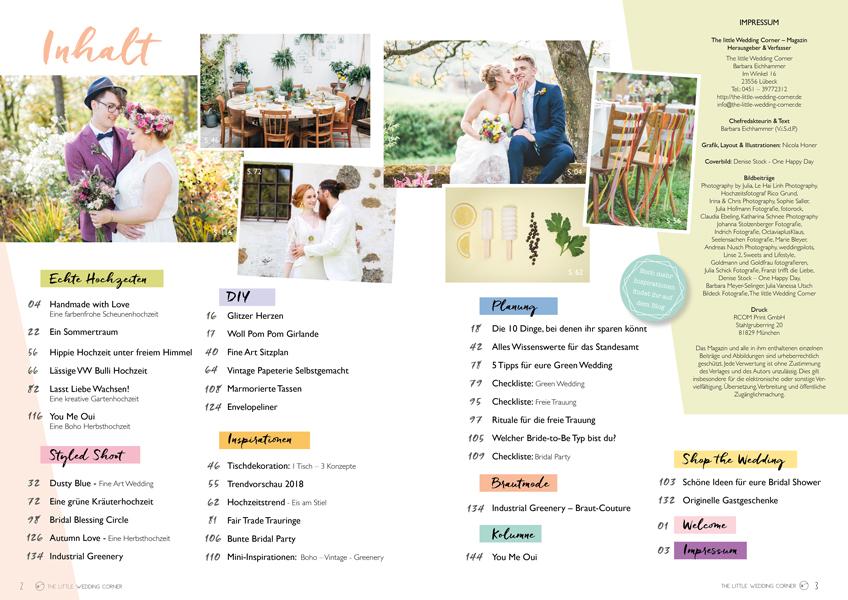 Blättert euch durch 144 Seiten Hochzeitsinspiration