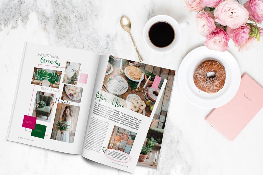 Einzigartige Hochzeitsinspirationen & ein Brautparty Spezial warten 2017 im Magazin von The Little Wedding Corner