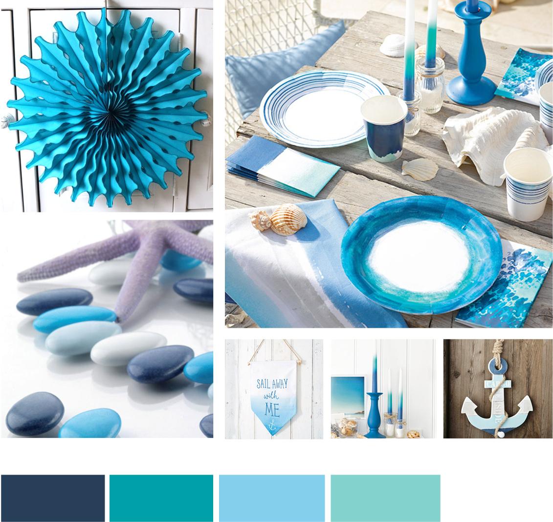 Maritime Farben fünf farbkonzepte für strahlende sommerhochzeiten my bridal shower
