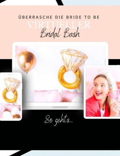 Der Bridal Bash funktioniert als Alternative zum klassischen JGA oder als kleines Extra