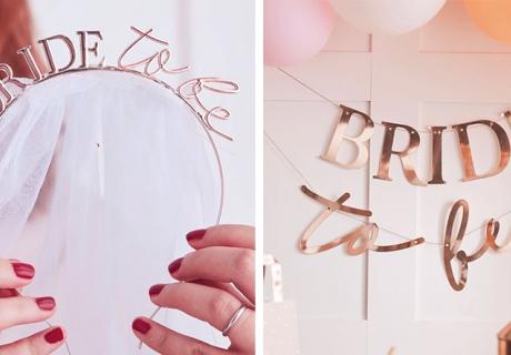 Überrasche deine Braut mit schönen Bride to Be-Accessoires!