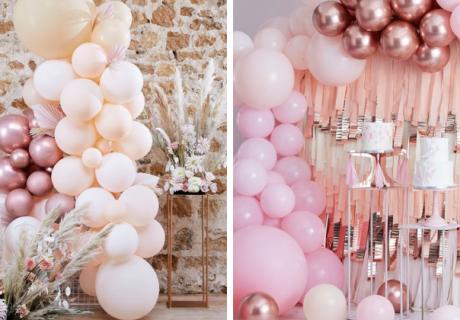 So atemberaubend haben deine Gäste Luftballons selten in Szene gesetzt gesehen, wetten?