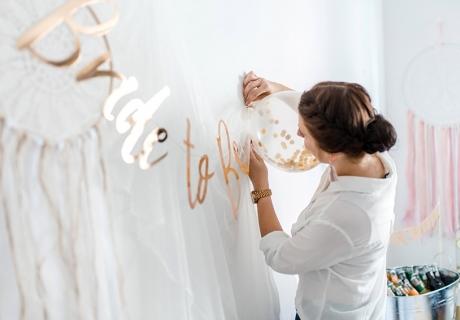 Plane und dekorier deine Brautparty einmalig schön (c) Feierei-Liebelei