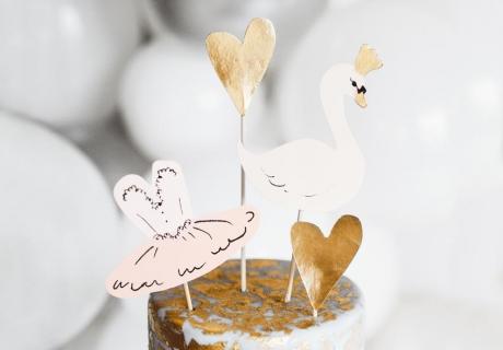 Wunderschöne Tortendeko für die Märchenbraut auf ihrer Brautparty