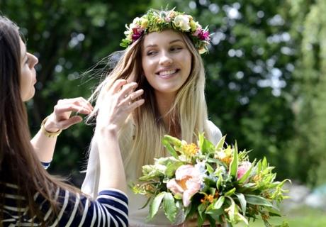 Es gibt wunderschöne naturnahe und spirituelle Themen für die Brautparty