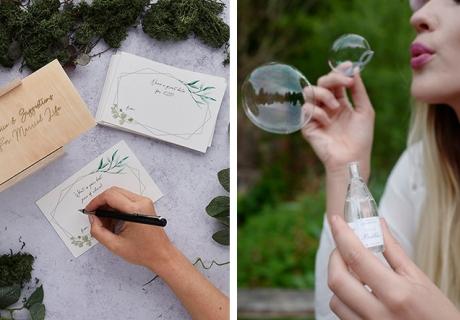 Für spirituelle Themen passen Advice Cards perfekt - Seifenblasen schaffen federleichte Stimmung