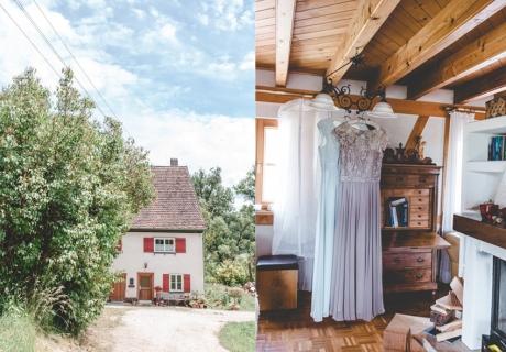 Schöne Idee: eine Heirat in der Nähe des Elternhauses