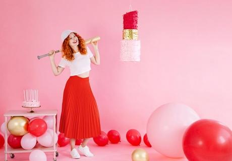 Galentine's Day - Dekorier wild in Rot und Rosa mit Frauenpower