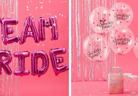 Coole Folien- und Spruchballons schaffen JGA-Ambiente