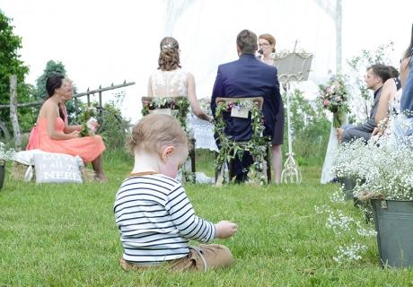 Kinder sind eine Bereicherung für jede Hochzeit und dürfen bei der Planung nicht vergessen werden