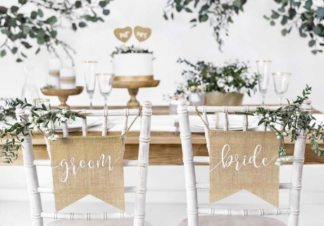 So toll kann deine umweltfreundliche Hochzeitsdeko aussehen