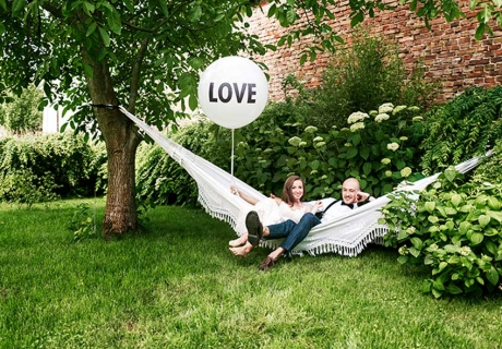 Deko zum Polterabend - Setz das Brautpaar lässig in Szene