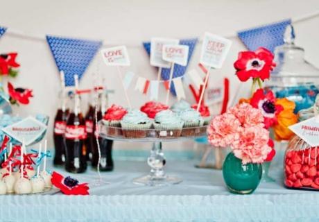 Kräftige Farben für den Rockabilly Look auf deiner Retro Hochzeit (c) Katrin Stahl