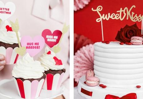 In diese Cake-Topper und Picks für den Valentinstag verlieben sich deine Freunde!
