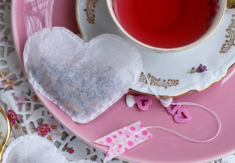 So in love with my Valentine - bei der Tea Time in romantischer Zweisamkeit