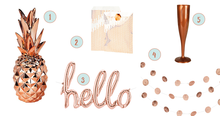 Trend look so styled ihr eine feminine brautparty in for Zimmer deko rosegold